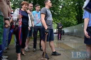 Застройщик подал в суд на защитников Батыевой горы в Киеве