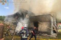 В селе возле Коломыи легкомоторный самолет упал на дом, погибли четыре человека