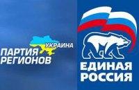 """Партия регионов 2 дня гостила у """"Единой России"""""""