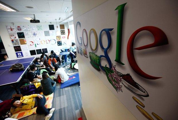 Кімната для відпочинку в шанхайському офісі Google