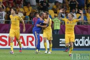 Шевченко вывел Украину в лидеры группы на Евро-2012