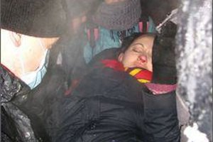"""""""Беркут"""" і міліція розігнали акцію протесту в Черкасах (доповнено)"""