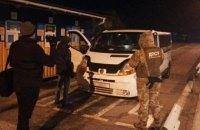 Водитель микроавтобуса задержан за перевозку граждан в РФ через оккупированный Крым