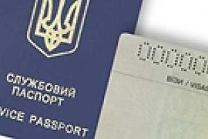 С украинским служебным паспортом в Эстонию можно будет ездить без визы