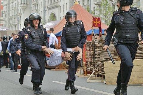 В Ростове протестовали против действий Росгвардии на антикоррупционных акциях