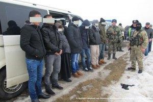 У Сумській області затримали сімох незаконних мігрантів