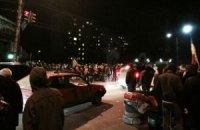 """Люди заблокировали одну из дорог к аэропорту """"Борисполь"""""""
