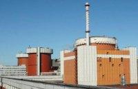 На Южно-Украинской АЭС автоматическая защита отключила третий энергоблок