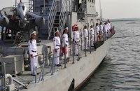 Зеленський на Одещині долучився до святкування Дня ВМС