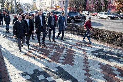 Кличко рассказал, когда завершится ремонт Владимирской улицы в Киеве