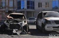В Полтавской области сожгли автомобиль чиновника мэрии