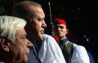 Эрдоган прибыл в Афины с историческим визитом