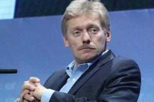 Росія не тисне на Україну в питанні про асоціацію з ЄС, - Пєсков