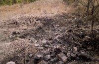 Бойовики застосували важку артилерію в околицях Кримського