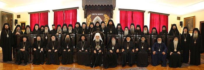 Архиерейский собор Сербской православной церкви, 2019