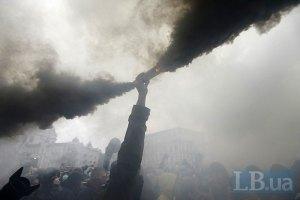 МВД не зафиксировало нарушений в ходе марша УПА