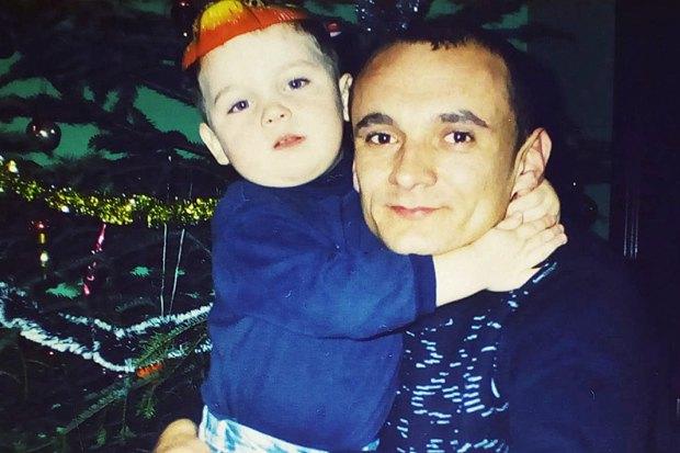 Микола Шиптур із сином Сергієм
