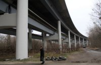 Будівництво Подільського мосту