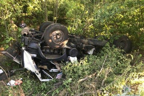 У Запорізькій області в ДТП з тягачем загинув військовослужбовець