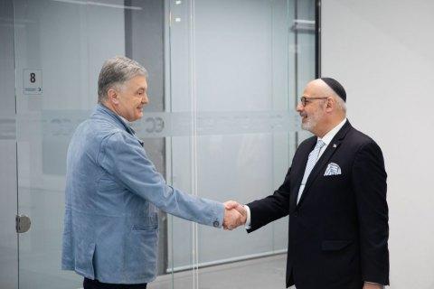 Порошенко встретился с израильским послом и поддержал право Израиля на самооборону