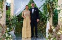 Експерша ракетка світу вийшла заміж за мільярдера
