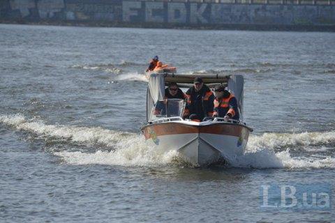 В Киеве прошли учения по отработке действий во время паводка