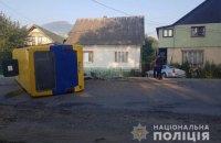 В Карпатах произошло ДТП с маршруткой, пострадали десять человек