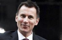 Новим головою МЗС Великобританії призначено міністра охорони здоров'я