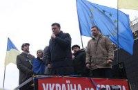 Тягнибок не исключает поддержку Евромайдана со стороны военных