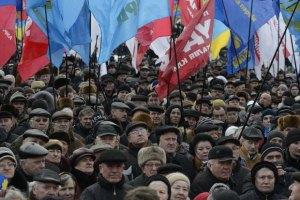 """""""Регионалы"""" поняли, что снег во Львове убирали ради митинга оппозиции"""