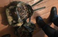 У Києві затримали чоловіка з рюкзаком патронів