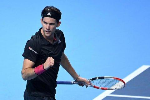 У шаленому поєдинку Джоковича і Тіма визначився перший фіналіст Підсумкового турніру АТР (оновлено)