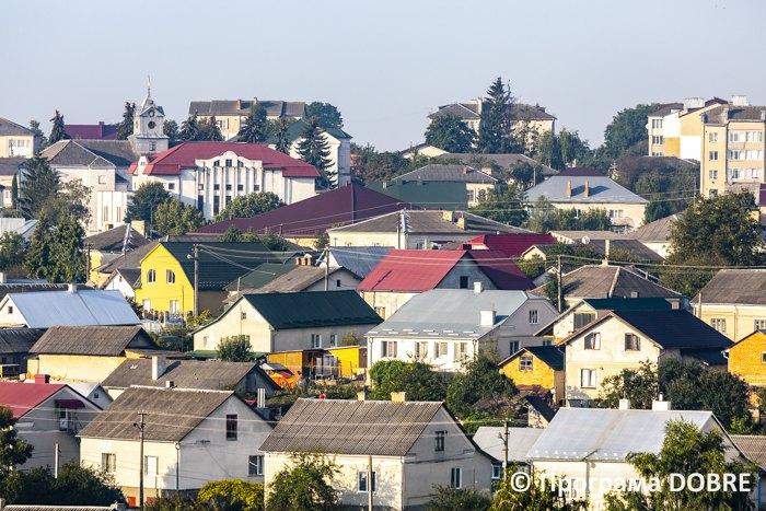 Панорама міста Зборів, Зборівська громада