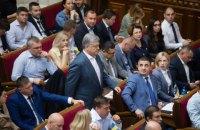 """""""Євросолідарність"""" набирає 15,7% у рейтингу партій, """"Слуга народу"""" – 15,5%, – КМІС"""