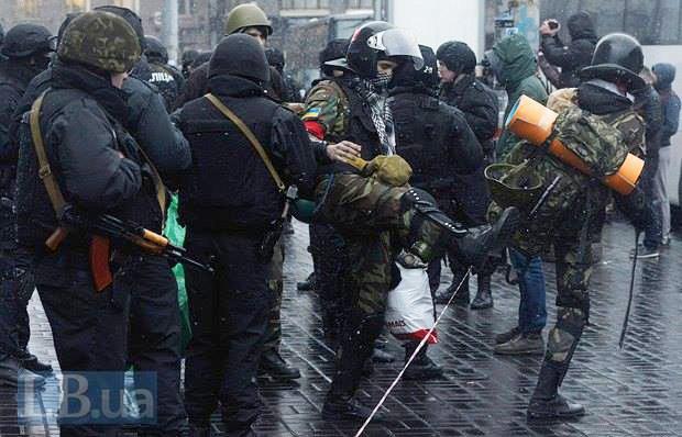 Георгій Тороповський на Майдані
