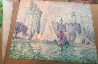 Суд назначил экспертизу картины французского художника Синьяка, найденной при обыске в Киеве