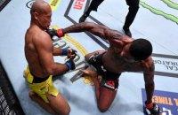 """У UFC названі номінанти на нагороду """"Нокаут року"""""""