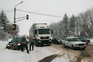 Через негоду заблоковано рух у 123 населених пунктах України