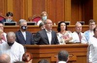 Законопроєкт Бужанського не винесли на голосування завдяки позиції патріотичних сил, - В'ятрович