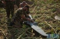 Артиллеристы в зоне АТО используют беспилотник для разведки позиций боевиков