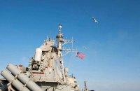 Американский ракетный эсминец прибыл к берегам Сирии