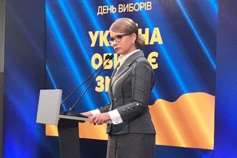 Тимошенко: экзит-поллы о выходе Порошенко во второй тур не отвечают действительности