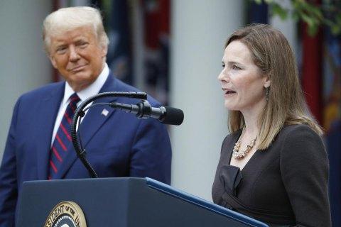Голосування за кандидатку Трампа у Верховний суд США запланували на наступний тиждень, - The Hill (оновлено)
