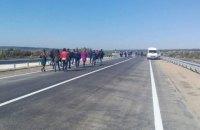 На объездной дороге Ивано-Франковска восстановили мост, уничтоженный паводком в 2008 году