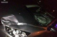 Пьяный водитель сбил патрульного во Львовской области и пытался сбежать