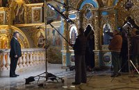 Янукович поздравит с праздниками среди икон Лавры