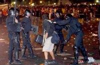 В Барселоне задержаны более 80 футбольных фанатов