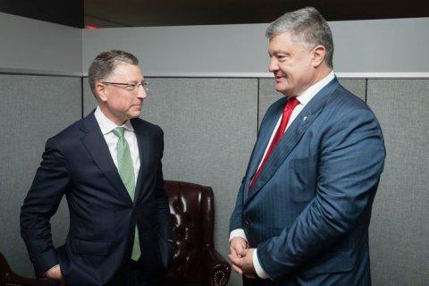 Порошенко считает отставку Волкера тревожными новостями для Украины