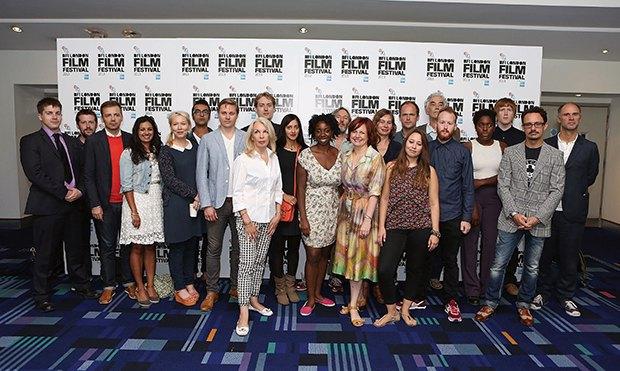 команда 57-го Лондонского кинофестиваля