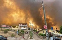 Лесные пожары охватили Италию, Францию и Испанию
